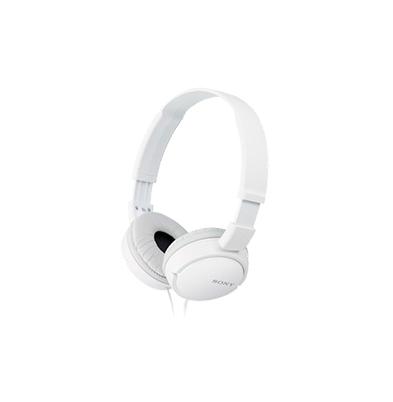 Sony Auricular MDR-ZX110 Blanco 12Hz-22kHz, 24 ohmios, cable 1,2 mts