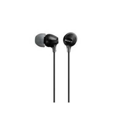Sony Auricular MDR-EX15LP Negro 8Hz–22kHz, Cable 1,2 mts