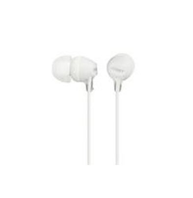 Sony Auricular MDR-EX15LP Blanco 8Hz–22kHz, Cable 1,2 mts