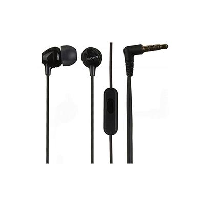 Sony Auricular MDR-EX15APB Negro 8Hz-22kHz,16 ohmios, cable 1,2 mts