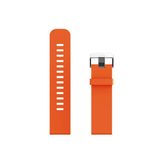Swiss+Go Correa Silicona Naranja 20 mm. para Bern, Arosa y otros