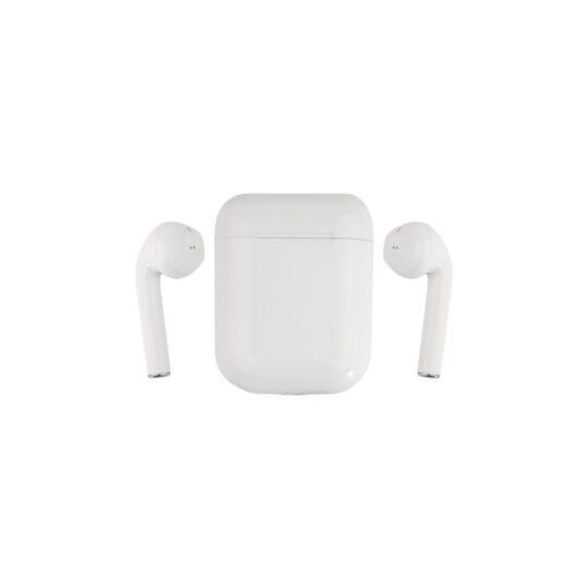 Swiss+Go Auricular Bluetooth Earbuds HS-19 IP (Tipo I-Phone) + estuche cargador