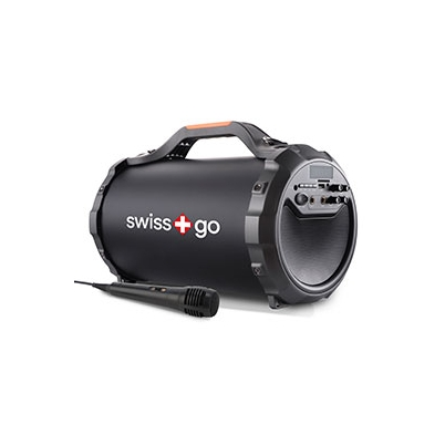 Swiss+Go Altavoz Bluetooth Portátil Ara P30