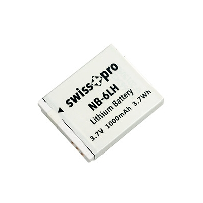 Batería NB 6LH Swiss+Pro 1000mAh