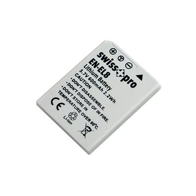 Swiss+Pro Batería EN-EL 8 600mAh