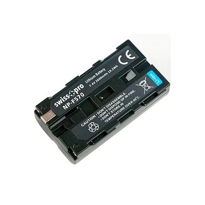 Batería NP-F570/50/30 Swiss+Pro 2600mAh
