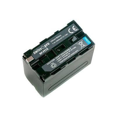 Batería NP-F970 Swiss+Pro 7800mAh