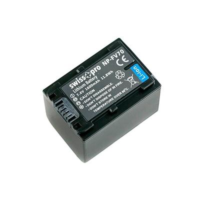 Batería NP-FV70 Swiss+Pro 1600mAh