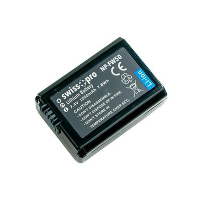Batería NP-FW50 Swiss+Pro 1050mAh