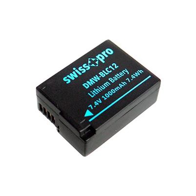 Bateria - DMW-BLC12 Swiss+pro 1000mAh | SWI501046
