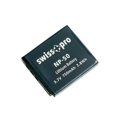 Swiss+Pro Batería NP-50 750mAh