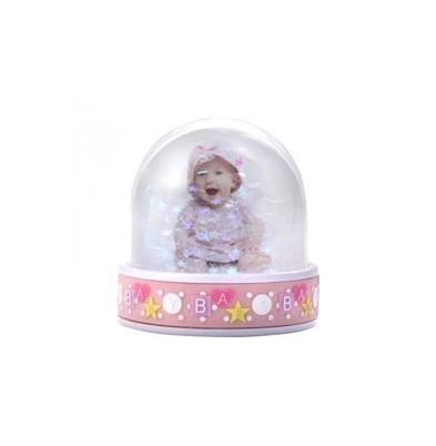 AP Bola Nieve Personalizable Ovalado Baby Pink