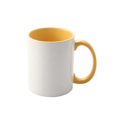 Taza Ceramica 11oz Amarilla (Micro Ondas y Lavavajillas) | SPM.082.096.024