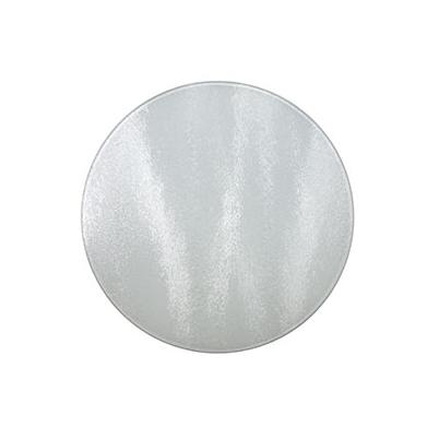 Tabla para Cortar de Cristal 30 x 30 cm Redonda | SCB.300.300.001