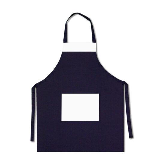 AP Delantal Cocinero Personalizable Azul