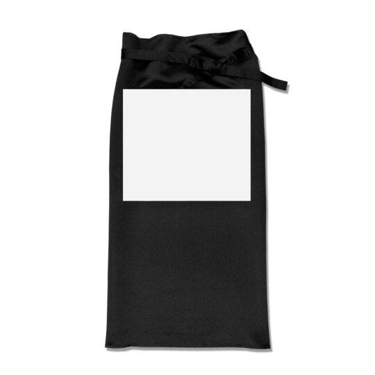 AP Delantal Cocinero Personalizable Negro