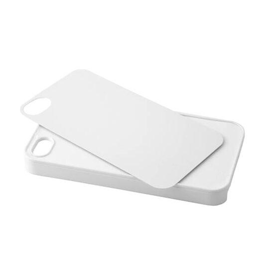 iPhone 4/4s AP Carcasa Silicona Personalizable Blanca