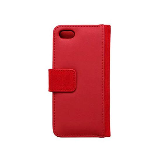 iPhone 4/4s Funda Polipiel Roja