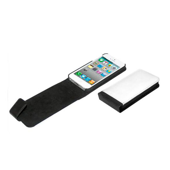 iPhone 5/5s Funda Polipiel Negra