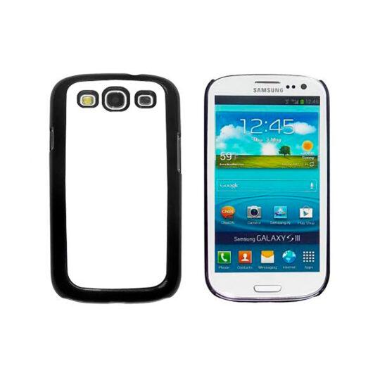 Samsung Galaxy S3 / GT-i9300 Carcasa Plástico Negra