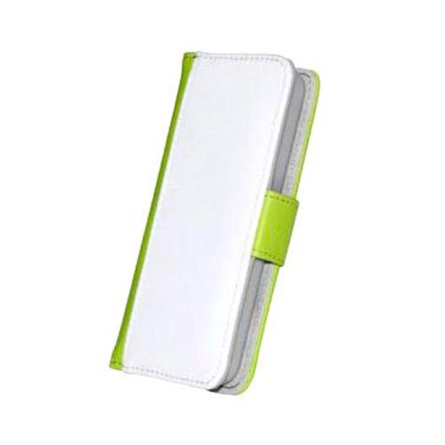 iPhone 5c Funda Móvil Polipiel Verde