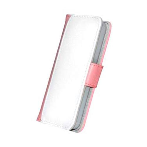 iPhone 5c Funda Móvil Polipiel Rosa