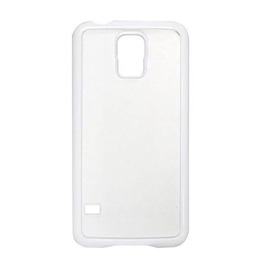 Samsung Galaxy S5 / G-900F Carcasa Plástico Blanca