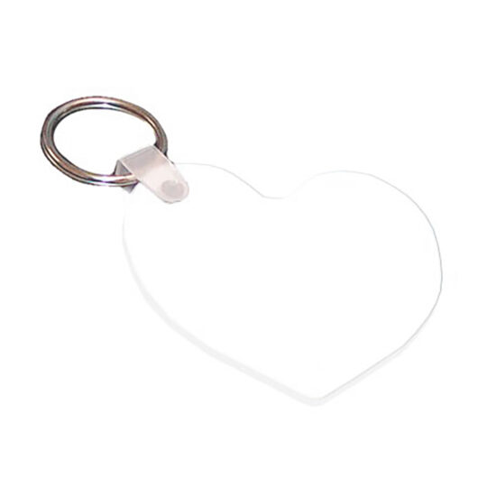 AP Llavero Plástico Corazón 6,0 cm alto