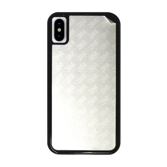 iPhone X Carcasa Plástico Negra