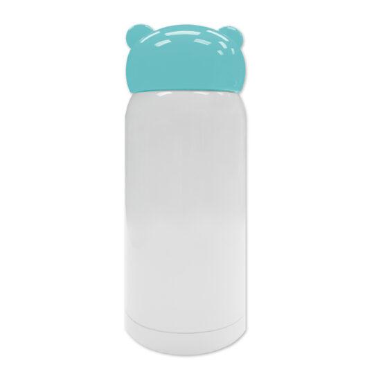 AP Botella 320 ml Personalizable Termo Acero Inoxidable Blanco/Azul