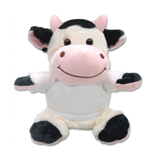 AP Peluche 21cm con Camiseta Personalizable Mod. Vaca