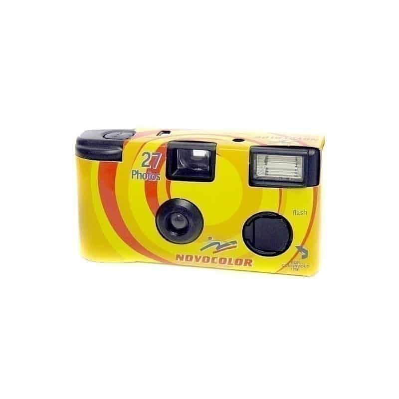 AP Novocolor 400-27 con Flash, Cámara de un solo uso