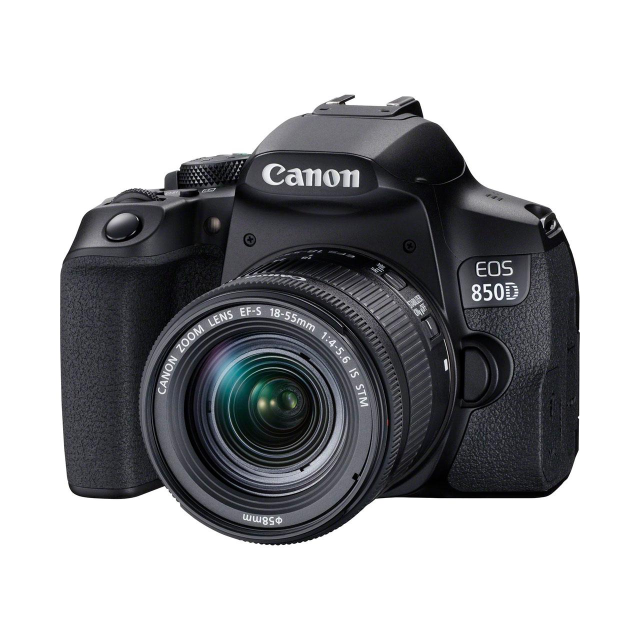 Canon Cámara Reflex Eos 850D Kit Objetivo EF-S 18-55mm IS STM