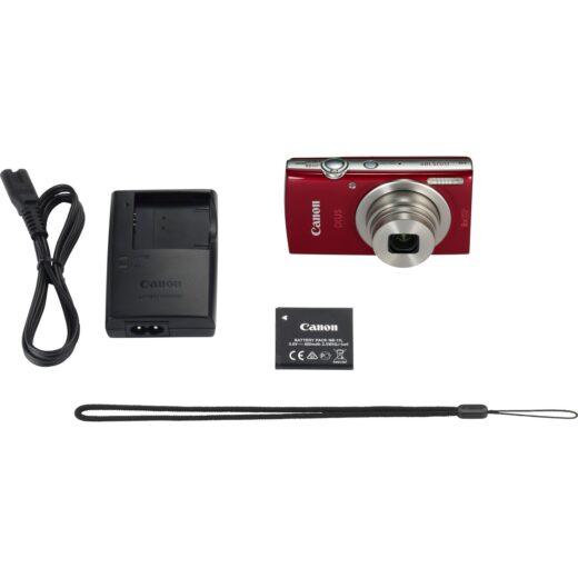 Camara Compacta - Canon Ixus 185 Roja   1809C001AA