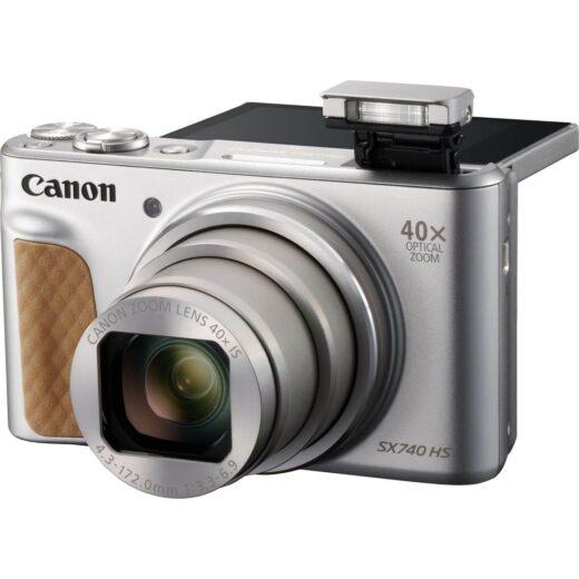Camara Compacta - Canon PowerShot SX740 HS Plata | 2956C002AA