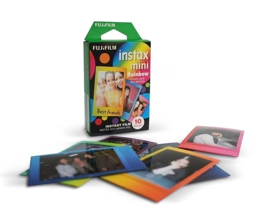 Fuji Instax Película Instant Mini Rainbow WW 1 (1x10 fotos)