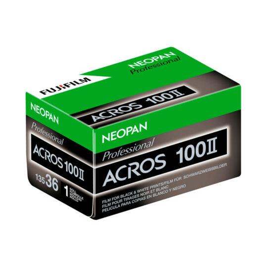 Película Blanco y Negro 35mm Fuji Neopan Acros II 100-36