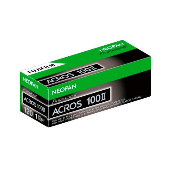 Película Blanco y Negro 120mm Fuji Neopan Acros II 100
