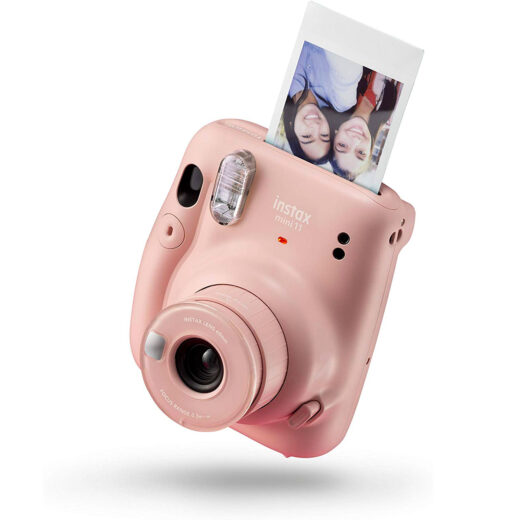 Camara Instantanea - Fuji Instax MINI 11 BLUSH PINK KIT WONDERFUL | 70100149097