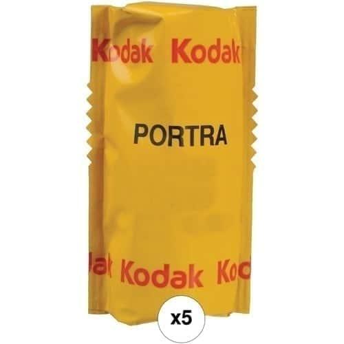 Kodak Portra 160-120 Película Negativo Color Pack 5 unidades