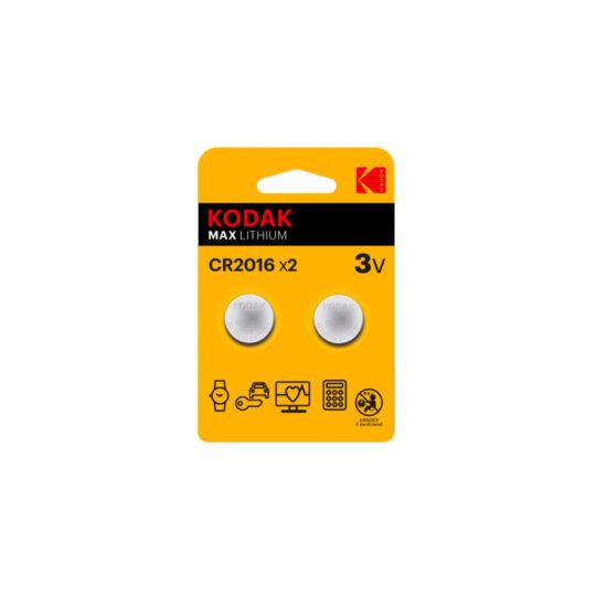 Kodak Max Pila CR2016 3v Blister 2 u.