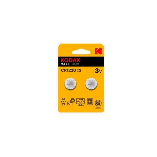 Kodak Max Pila CR1220 Kodak Max Blister 2 u.