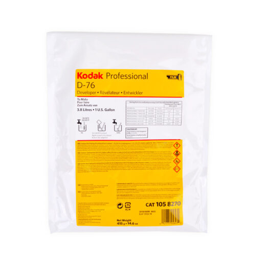Quimico - Kodak  BW Revelador D-76 1x 3,78 L | 1058270