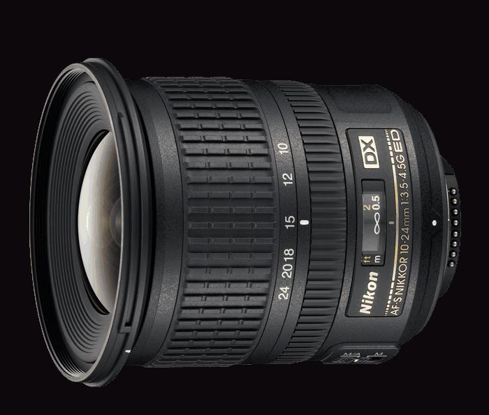 Nikon Objetivo DX AF-S 10-24mm f/3.5-4.5 ED G