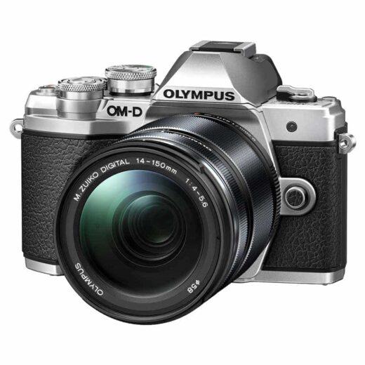 Cámara Evil Olympus OM-D E-M10 Mark III Plata Objetivo 14-150mm Negro | V207070SE010