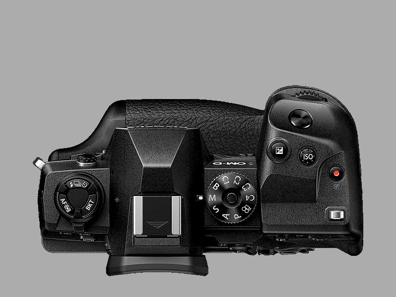 Olympus Cámara Evil E-M1X Cuerpo Negra con 2 Baterías BLH-1