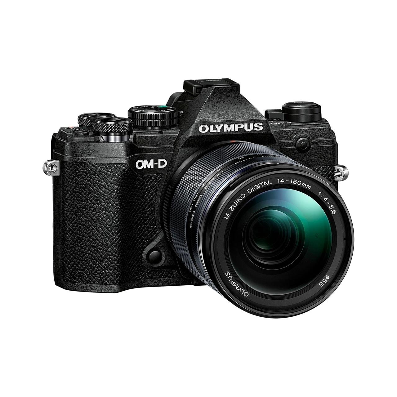 Olympus Cámara Evil OM-D E-M5 Mark III Negra + 14-150 Negro