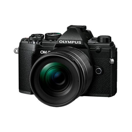 Cámara Evil Olympus OM-D E-M5 Mark III Neg.+12-45 F4 Negro + Bat. BLS-50