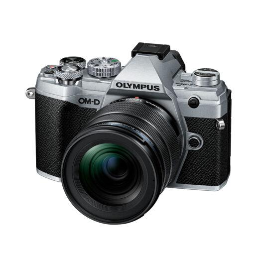 Camara Evil - Olympus OM-D E-M5 Mark III Plata.+12-45 F4 Negro + Bat. BLS-50   V207092SE000