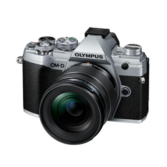 Olympus Cámara Evil OM-D E-M5 Mark III Plata.+12-45 F4 Negro